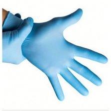 כפפות כחולות ניטריל