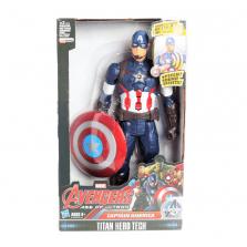 בובת קפטן אמריקה מדברת גובה 25סמ
