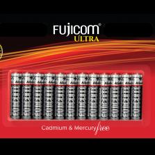 12 סוללות AAA מבית Fujicom