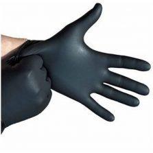 כפפות ניטריל בצבע שחור