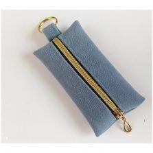 נרתיק לכל מטרה כחול אפור ריץ רץ להתאמה לבגדים מפתחות ועוד