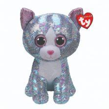 בובת TY עיניים גדולות פאייטים ווימסקי החתול הכחול