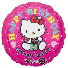 בלון מיילר - 18 יום הולדת הלו קיטי