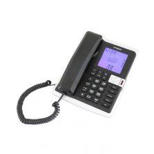 טלפון משרדי צג גדול דקורטיבי שחור יונדאי