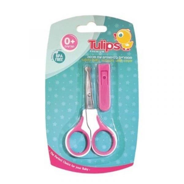 Tulips Premium - מספריים בטיחותיים לתינוק