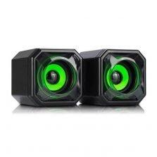WESDAR Computer Speakers CS2 GREEN