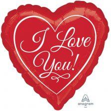 בלון אני אוהב אותך באנגלית 3893601
