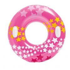 גלגל ים אינטקס כוכבים עם ידיות ורוד 91 סמ 59256